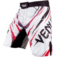 Шорты venum exploding fight shorts - white